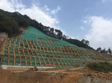 2018专业承接客土喷播施工队广西植被混凝土边坡绿化