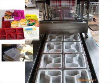 大量供应大诚牌DC-JX全自动快餐盒封口机设备