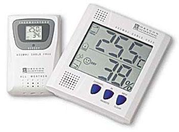 多频道无线温湿度计