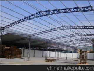 东莞地区专业承接各种钢结构棚搭建工程 铁皮棚翻新防腐 彩钢瓦油漆隔热