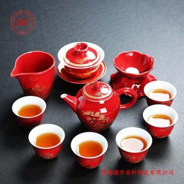 供应五一劳动节礼品景德镇茶具