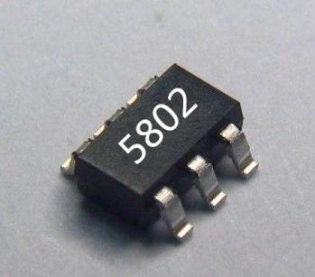 多口充电器 排插专用USB限流开关5802 带USB识别和充电指示