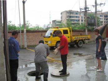 湛江下水道疏通为广大市民排忧解难