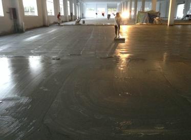 贵州金钢砂地坪施工施工工艺要点