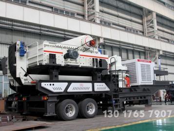 小型车载式移动碎石机大概时产200吨的厂家能报个价吗