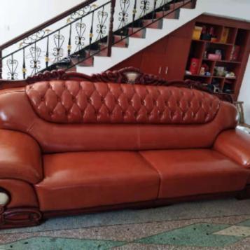 泰安沙发换皮换面简述真皮沙发改色方法