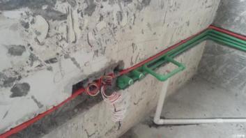 楼房水路改造_合肥水电工程