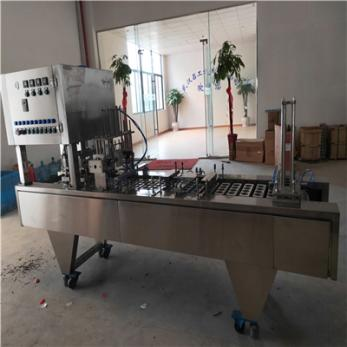 吕工机械新款4口全自动小罐茶封口机厂家