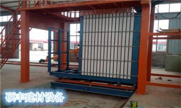 硕丰轻质卧膜隔墙板设备生产技术性能良好