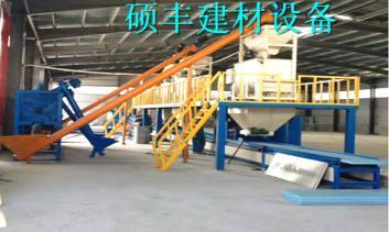 硕丰介绍fs一体化建筑免拆外模板设备独特技术