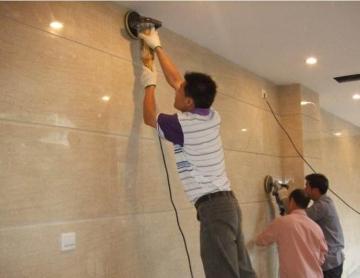 杭州石材翻新工艺养护工程实录