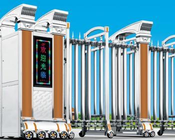 三亚电动伸缩门厂家自动门价格