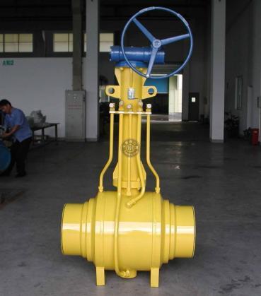 燃气放散焊接球阀Q361F