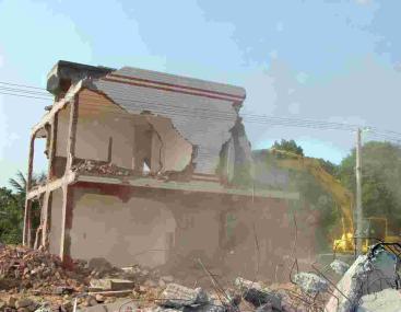 诚安拆除有限公司长沙旧房老房拆除服务流程。