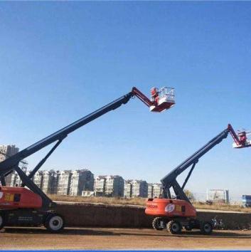 台州自行走高空作业平台车出租_单桅柱高空作业平台
