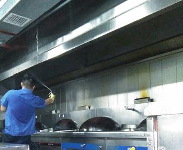 贺州大型油烟机清洗