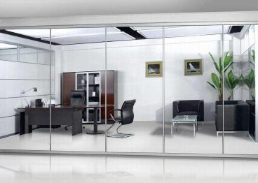 芜湖办公室隔断玻璃隔断门安装步骤