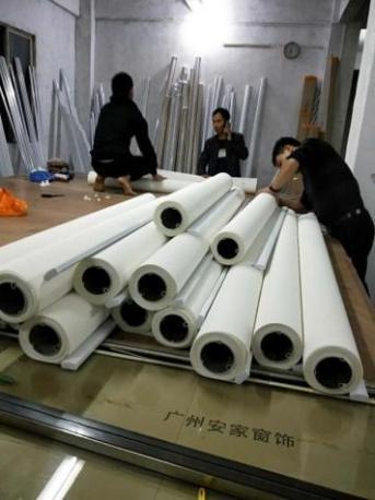 广州办公室窗帘安装定制