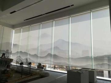 广州办公室窗帘安装厂家