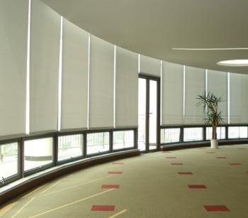 广州办公窗帘专业订做写字楼办公窗帘