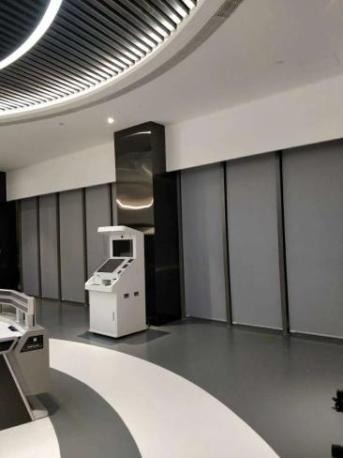 广州安家窗帘厂家定做办公室遮光隔热卷帘