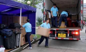 南昌专业搬家为客户打包整理