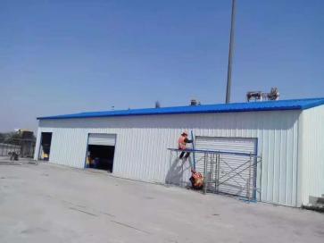 泉州彩钢棚电动卷闸门安装