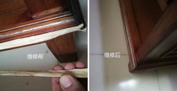 高唐家具维修让原本破旧不堪的家具焕然一新。