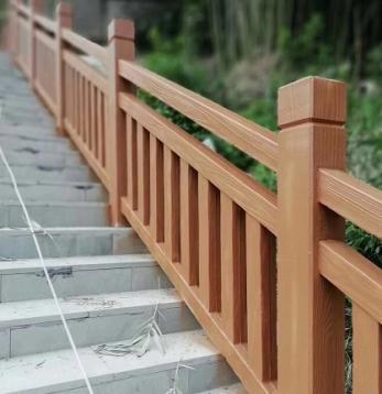 中山水泥仿木栏杆制作