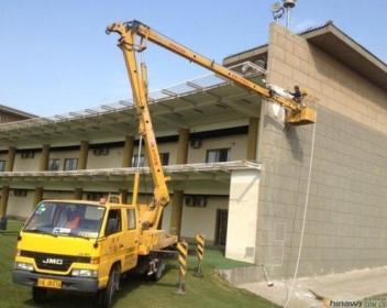 海口高空车租赁为客户提供全套施工设备