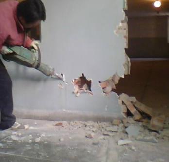 杭州墙体拆除楼房拆除