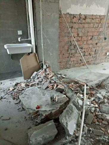 杭州混凝土切割拆除墙体拆除