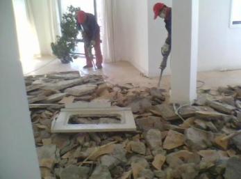 杭州室内拆除为用户解决各种拆除问题的后顾之忧