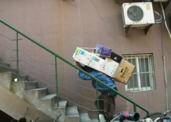 东营区搬家公司有各种作业搬家车辆