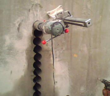 南充家装钻孔空调孔热水器孔