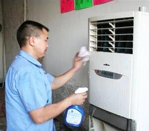 恩施空调清洗的简单步骤