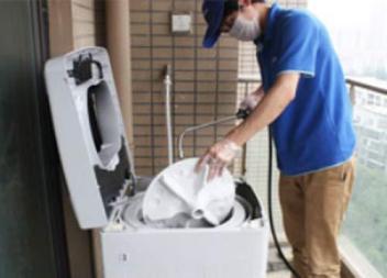 洗衣机应该如何清洗?_龙湾洗衣机清洗