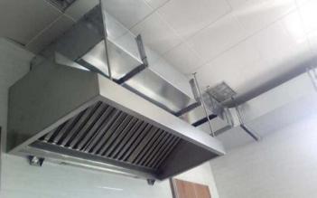 长沙厨房排烟罩制作厂家