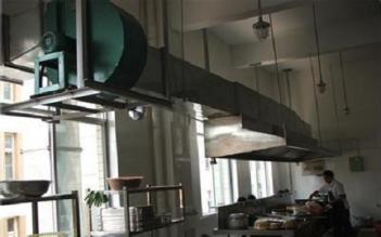 长沙厨房排烟罩制作安装