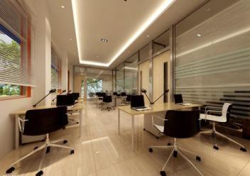 香洲区办公室装修工程注重细节