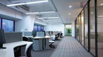 香洲区办公室装修公司|办公室灯光设计问题