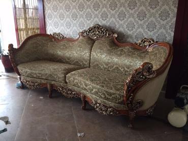 上海定做皮革沙发、布衣沙发