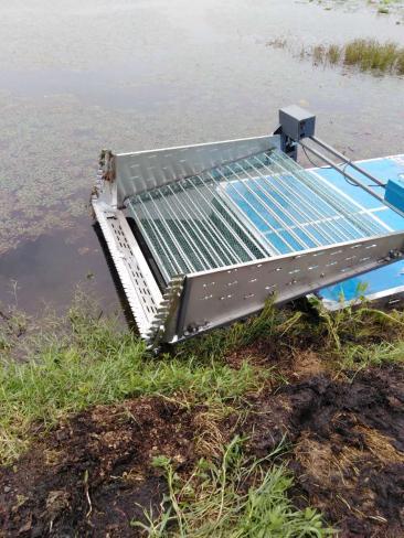 湖北池塘河道割草机