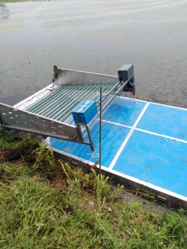 湖北池塘割草机,湖北河道碎草机