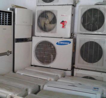 诸暨空调回收 回收大量二手窗式 挂壁柜机