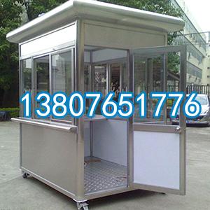 海南钢结构岗亭安装制作 根据客户要求定制