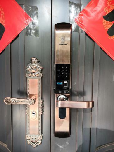 四会安装指纹密码锁业务能力娴熟