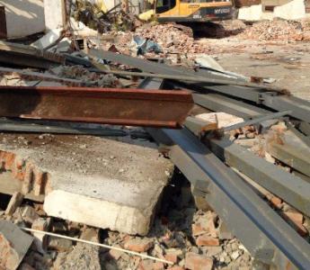宁波钢结构厂房拆除工厂拆除回收