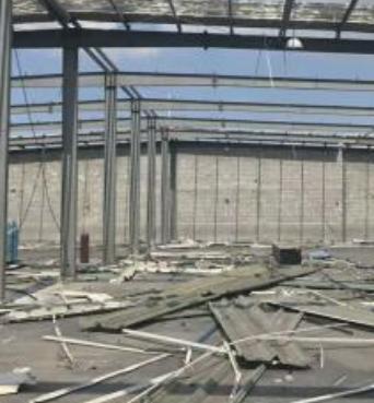 宁波回收钢结构厂房拆除钢结构厂房