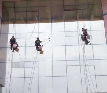柳州高空外墙清洗保洁